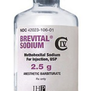 Buy Brevital Sodium 2.5 g - Methohexital Sodium injection