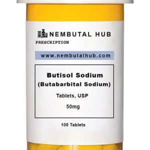 Buy Butabarbital Sodium 50 mg tablets - Butisol Sodium 50 mg tablets